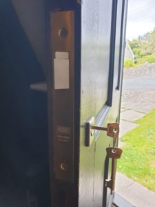 Lock replacement in Newport