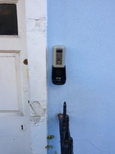 Keysafe installed by City Locksmiths in Newport & Gwent
