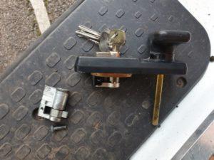 New Garage Door Lock Ringland